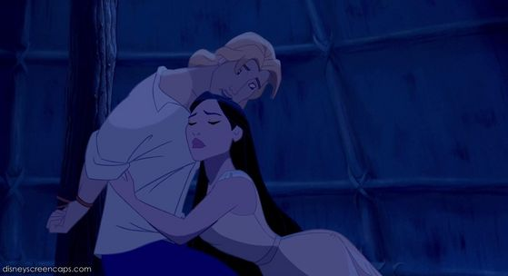 Pocahontas visits John Smith when he was arrested