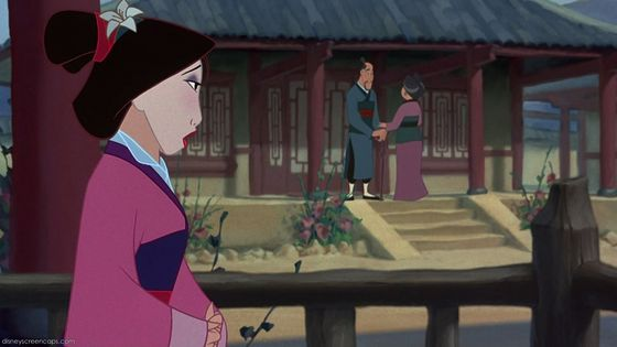 Mulan didn't bring honor to her family