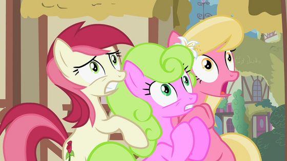 Rose, Daisy, Lily