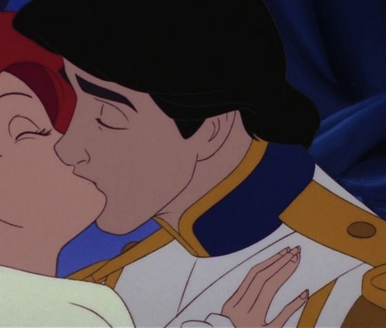 Here's Eric and Ariel, cropped.