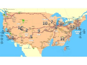 Panem Map - generalized