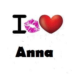 Hugs, Kisses, cinta For Anna! <3
