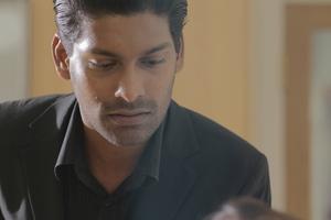 Emmanuel rayo, ray as Ravu, the silent assassin in Dumar movie. foto courtesy frutas District Films.