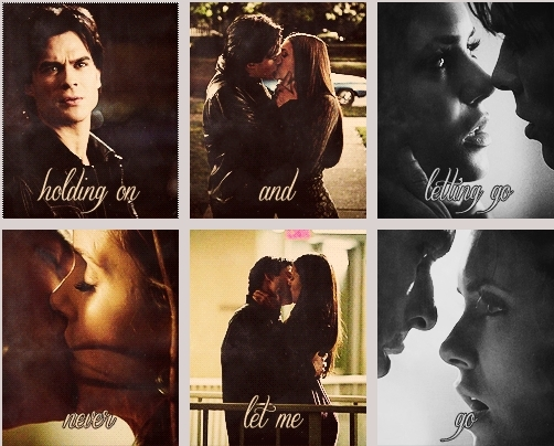 what episode does elena choose damon