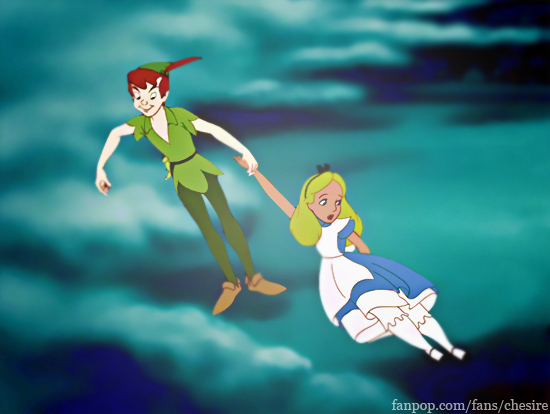 8. Alice x Peter. She would 사랑 Peter!