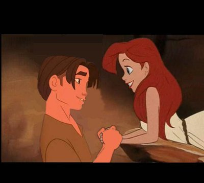 4. Jim x Ariel. My first crossover couple. They look sweet together.