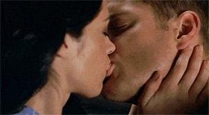 IEVA AND DEAN KISSING!!!!