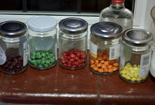 Skittles and vodka
