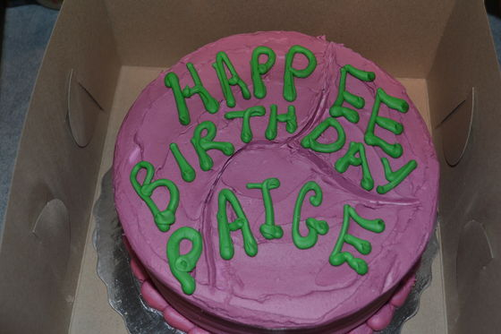 Your birthday cake looks like this