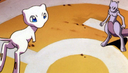 Mew and Mewtwo from the first movie