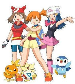 Misty, May and Dawn