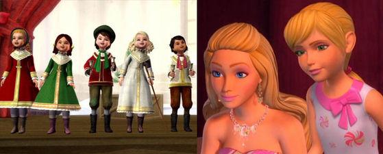 """I like the barbie natal film .I think they're awesome..."""