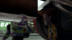 7. Woody and Buzz's arguement (Toy Story 1)