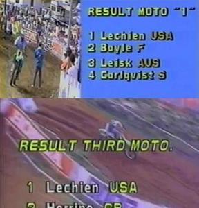 1ST LINER - MX DES NATIONS FRANCE 1988