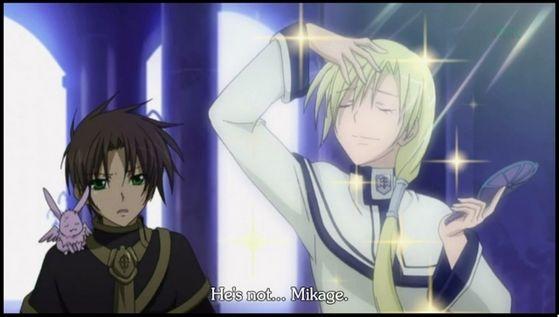 Teito mistakes Hakuren as Mikage