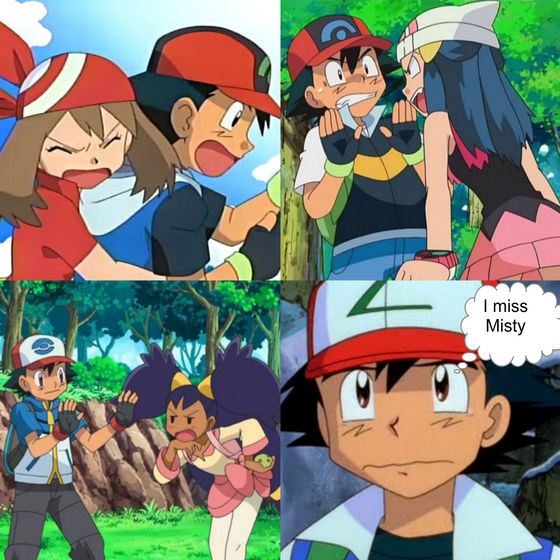 BACK OFF HUSSIES! HE'S MISTY'S! ><