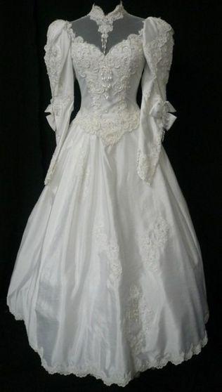Holly's wedding dress