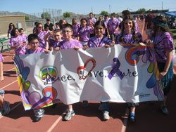 Different sexes and colors come together to walk the Relay