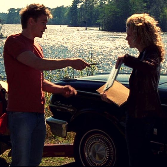 Lucas Fixes Peyton's Car ♥