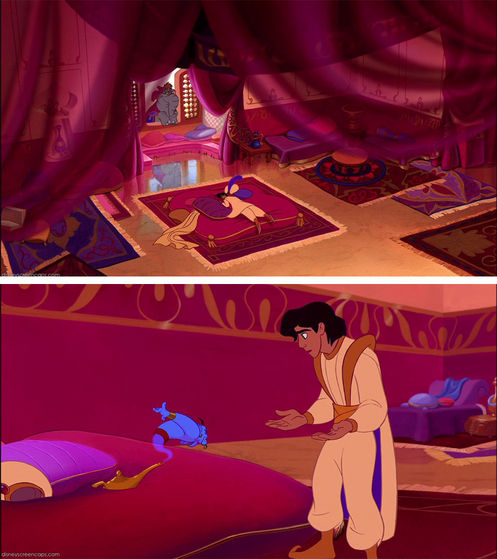 A princely bedroom for a street-rat-turned-prince
