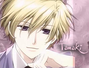 3. Tamaki Suou, he's a sweet heart.