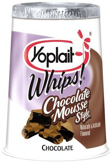 Yoplait Whips! tsokolate mousse Yogurt