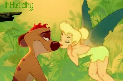 Smiles and Kisses are shared after Tink tells Timon he's the one she wants to be with forever.