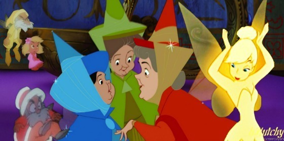 They met Tinkerbell, the most beautiful fairy of them all. Little did they know, she was ugly on the inside.