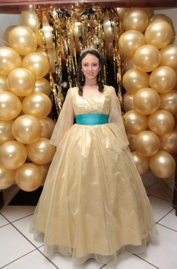 This is me, in my Anastasia dress (: (yes, I made a Disney party with an Anastasia dress, get over it, this thing is too pretty)