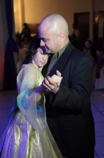 For the father and daughter dance, it was Beauty and the Beast (Celine Dion version)