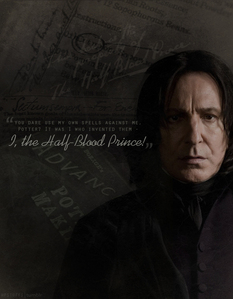 Severus reveals he is the Half-Blood prince in front of Harry in HBP