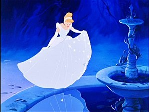 The beautiful Cinderella.