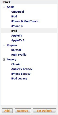 How to Convert AVI Videos to iPad with Handbrake - Apple