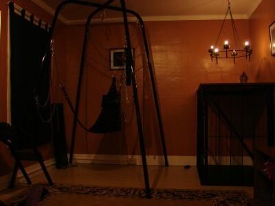 Typical bondage setup