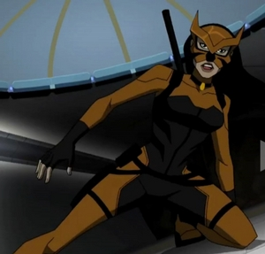 cọp cái, hổ, con hổ cái (Artemis Crock) will be the latest villain the Team will face.