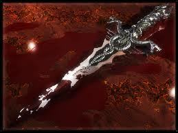 Silver Metal Shines So Bright. Scarlet Blood Bath Feels So Right......