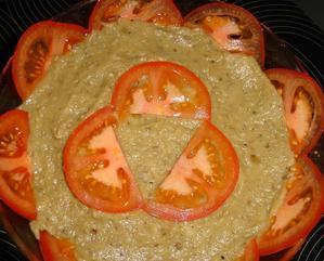 ~ Roasted and peeled berenjena ensalada ~