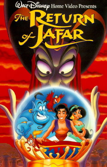 As far as disney sequels, I actually like the ones left. But there's too much Iago not enough aladdin in this one D: -Jessikaroo