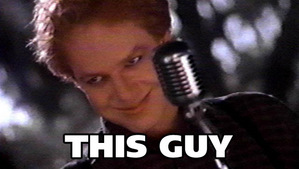 is Danny Elfman, a movie composer.