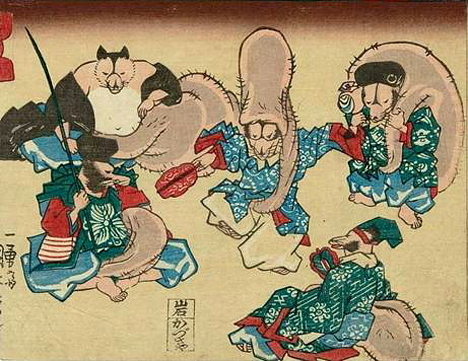 Shichifukujin (the Seven Lucky Gods) Disguise