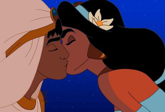 Aladin and jimmy, hunitumia -The Kiss in the Balcony