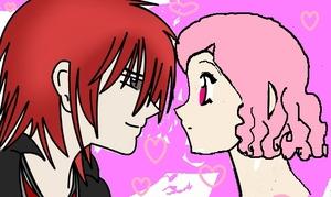 castielxbelle almost kiss