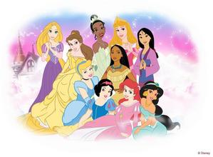 The 10 OFFICIAL Дисней Princesses