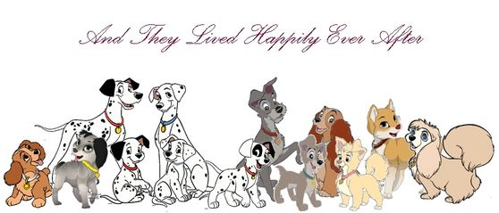 The Runaway Adventures- A Lady and the Tramp and 101 Dalmatians ...