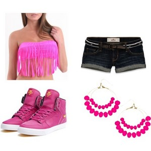 my outfit to the pool party