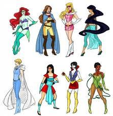 I personally don't like this. except for Tiana's outfit.