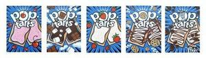 Paintings done for Pop tart boxes