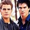 Damon and Stefan Salvatore