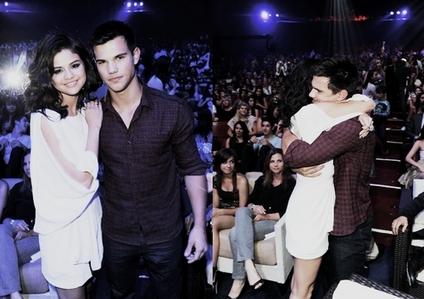 hugging Selena :)