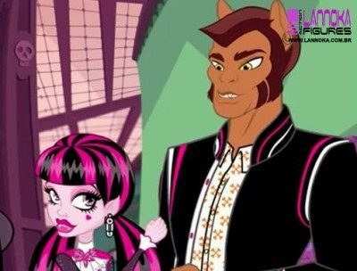 I really like Clawd and Draulaura. They are such a nice couple and I cinta their personalities